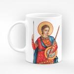"""Чаша """"Честит имен ден на всички именници"""" - подарък за Димитровден"""