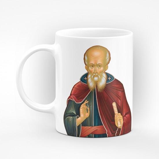 """Чаша """"Честит Савинден на всички именници"""" - подарък за Савинден"""