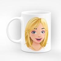 """Чаша """"Честит имен ден Ани"""" - подарък за Света Анна"""