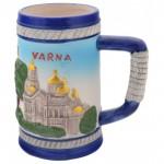 Халба с релефни забележителности от Варна